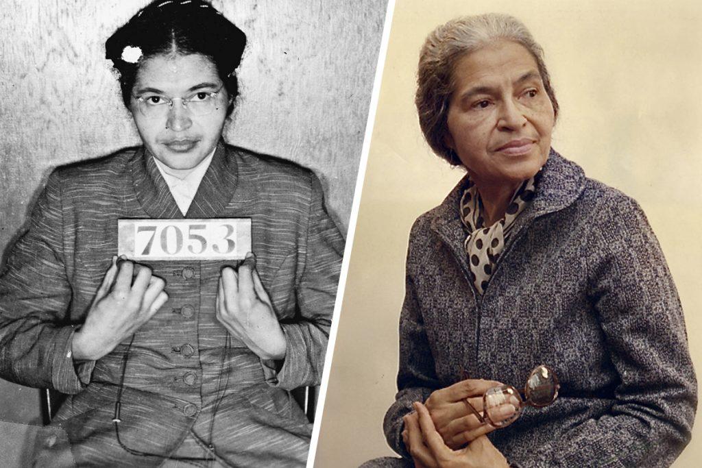 Rosa Parks, leyenda, valentía